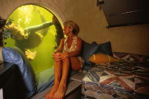 Stay at an underwater hotel at Jules' Undersea Lodge, Key Largo, Florida