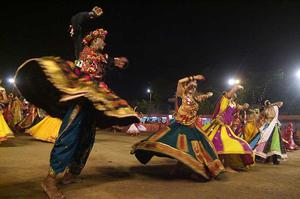 Attend a Navratri (Nine Nights) Festival