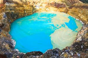 Explore Kelimutu National Park & it's Colored Lakes, Indonesia