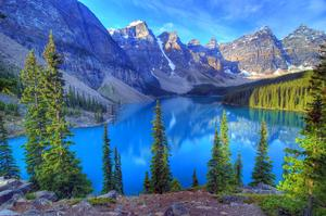 Explore Moraine Lake, Banff National Park, Canada