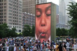 See Crown Fountain, Chicago