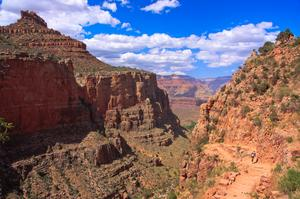 Hike the Bright Angel Trail, Grand Canyon National Park