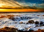 See Thor&#39;s Well &amp; Devil&#39;s Churn, Cape Perpetua, Oregon