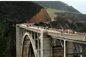 Run the Big Sur International Marathon, California