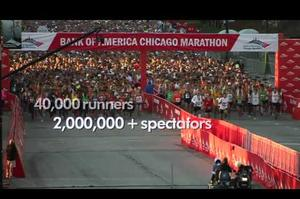 Run the Chicago Marathon, Illinois