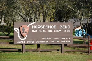 Visit Horseshoe Bend National Military Park, Alabama