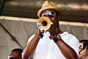 Attend New Orleans Jazz Festival