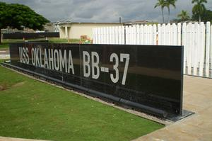 Visit USS Oklahoma (BB-37), Pearl Harbor, Hawaii