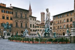 See the Fountain of Neptune, Florence, Italy