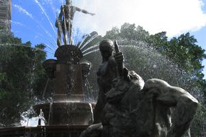 See the Archibald Fountain, Sydney, Australia