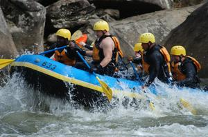 Raft or Kayak the Gauley River, West Virginia