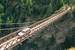 Drive across or Jump Off Skippers Bridge, New Zealand