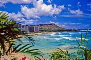 Visit Oahu Island (The Gathering Place), Hawaii