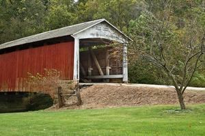 Drive through Covered Bridges of Parke County, Indiana
