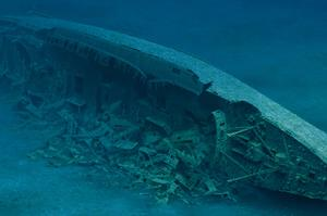 Wreck Dive SS Andrea Doria, North Atlantic