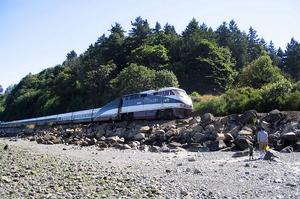 Ride Amtrak Cascades, Eugene Oregon - Vancouver British Columbia