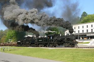 Visit Cass Scenic Railroad State Park, West Virginia