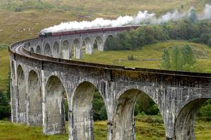 Ride The Jacobite, Scotland
