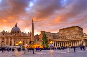 Visit Saint Peter's Square during Papal Conclave, Vatican City