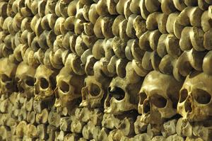 Walk Catacombs of Paris, France