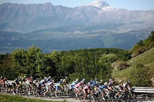 Attend Giro d&#39;Italia, Italy