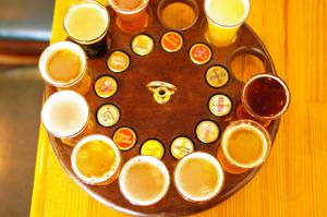Drink Beer at Russian River Brewing Company, Santa Rosa, California