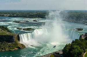 Dine at The Revolving Dining Room, Niagara Falls, Ontario, Canada