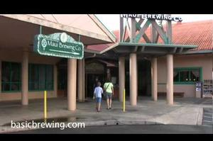 Drink Beer at Maui Brewing Company, Lahaina, Maui, Hawaii