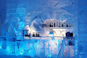 Have a Drink at an Ice Bar