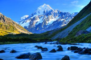 Explore Aoraki/Mount Cook National Park, New Zealand (UNESCO site)