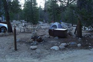 Camp Yosemite Creek Campground, Yosemite National Park, California