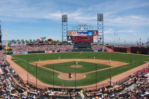 Attend a Giants Game at AT&T Park, San Francisco