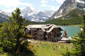 Stay at Many Glacier Hotel, Glacier National Park, Montana