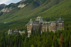 Stay at Fairmont Banff Springs Hotel, Banff National Park, Alberta, Canada