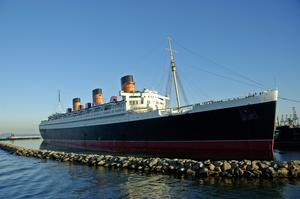 Stay on the RMS Queen Mary, Long Beach, California