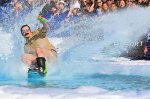 Attend the Slush Cup, Alyeska Resort, Girdwood, Alaska