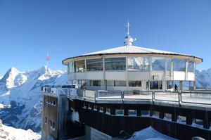 Dine at Piz Gloria, Schilthorn, Switzerland