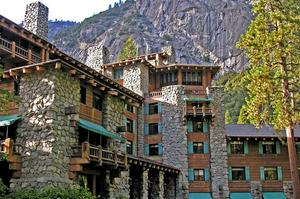 Stay at Ahwahnee Hotel, Yosemite National Park, California