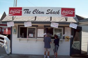 Dine at The Clam Shack, Kennebunk River, Maine