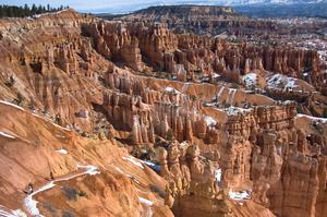 Hike Under-the-Rim Trail, Bryce Canyon National Park, Utah
