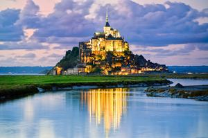 Visit Mont Saint Michel, France (UNESCO site)