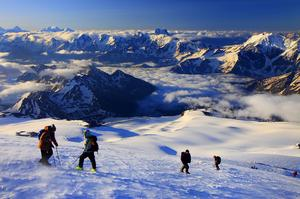 Summit Mount Elbrus, Russia