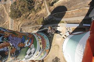 Bungee or BASE jump from Orlando Power Station, Soweto, South Africa