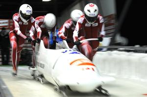 Ride an Olympic Bobsleigh