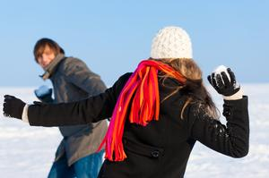 Participate in a Snowball Fight