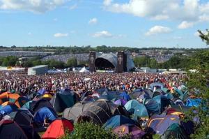 Attend the Glastonbury Festival, England