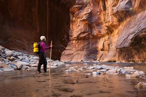 Hike the Narrows at Zion National Park, Utah