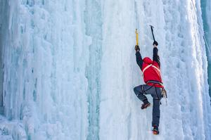 Climb a Frozen Waterfall (Ice Climbing)