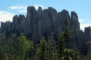 Rock Climb Needles, Black Hills, South Dakota