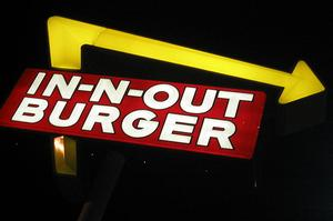 Eat In-N-Out Burger